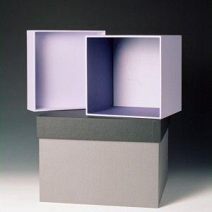 Design doos licht paars