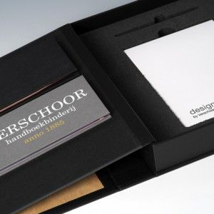 Design doos boekje